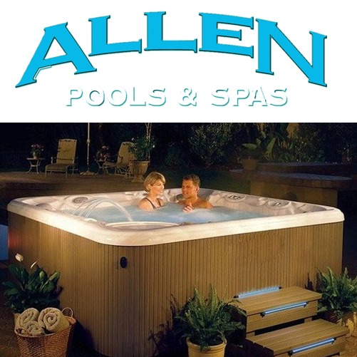 Allen Pools and Spas, Hot Tub Sales and Service, Swimming Pools, Pool Service
