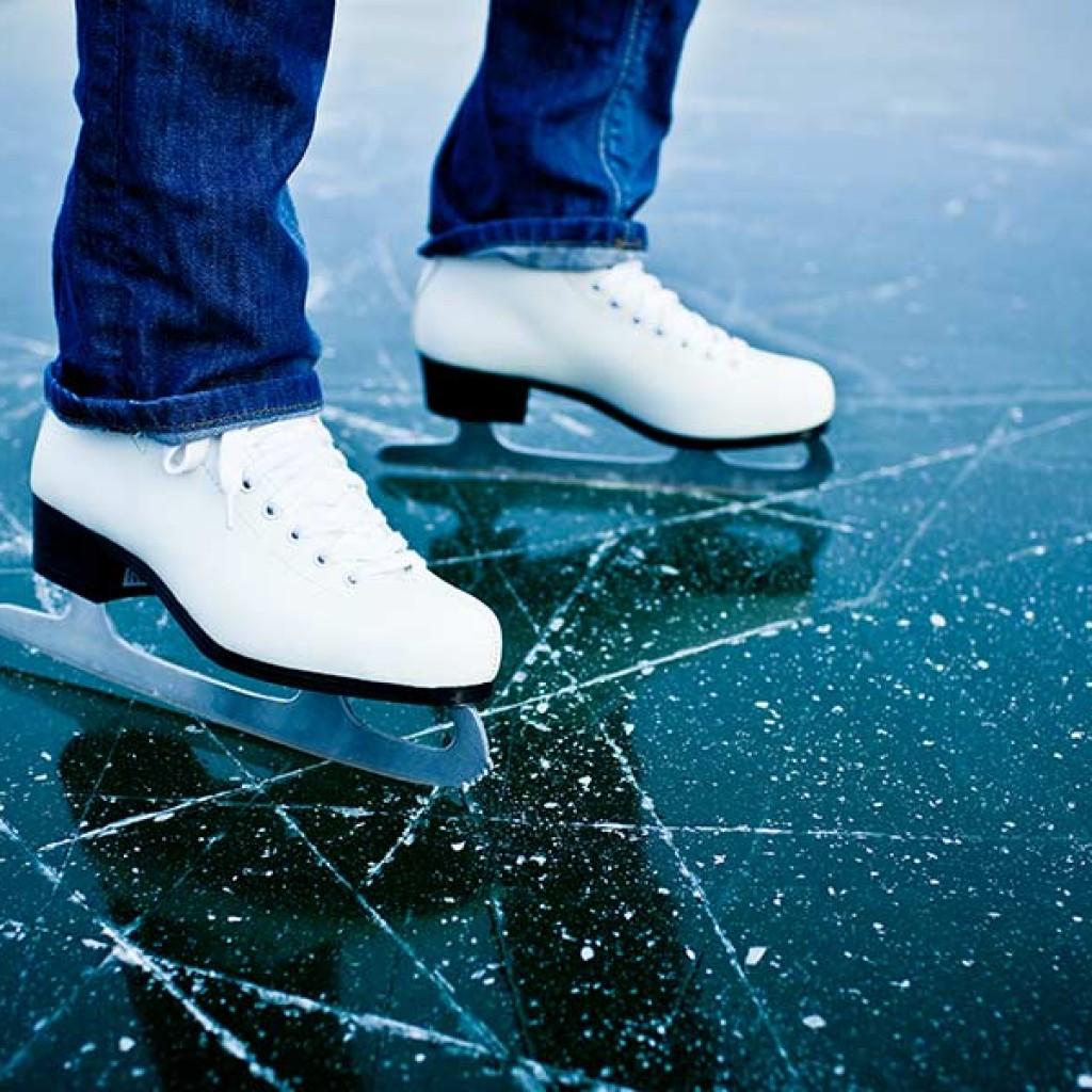 Georgetti Park Ice Skating in Rutland