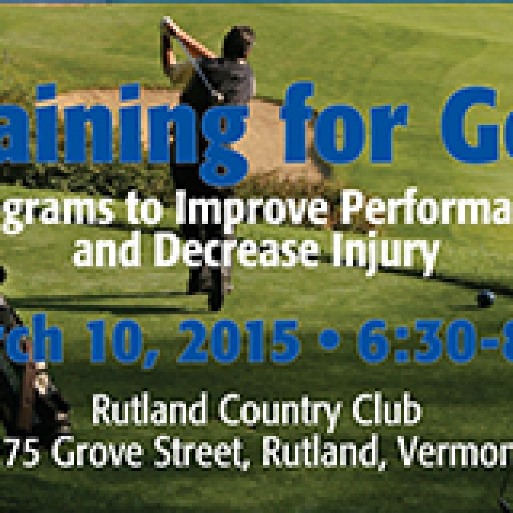 Golf-Training-Workshop Rutland