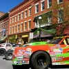 Devil's Bowl Speedway Race Car Show in Downtown Rutland, Vermont Hosted by the Rutland Region Chamber of Commerce