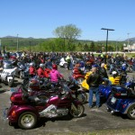 Rutland Vermont Motorcycle Blessing Ride and BBQ