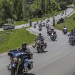 Vermont Police Academy Red Knights Motorcycle Club and All Saints Church Scenic Ride Blessing and BBQ Rutland Vermont