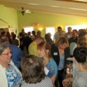 A large crowd was in attendance for the Rutland Region Chamber of Commerce Mixer hosted by the award winning Red Clover Inn Restaurant & Tavern.