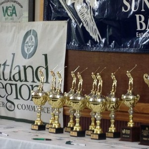 Rutland Chamber Golf Classic Green Mountain National Golf Course Killington VT Trophies