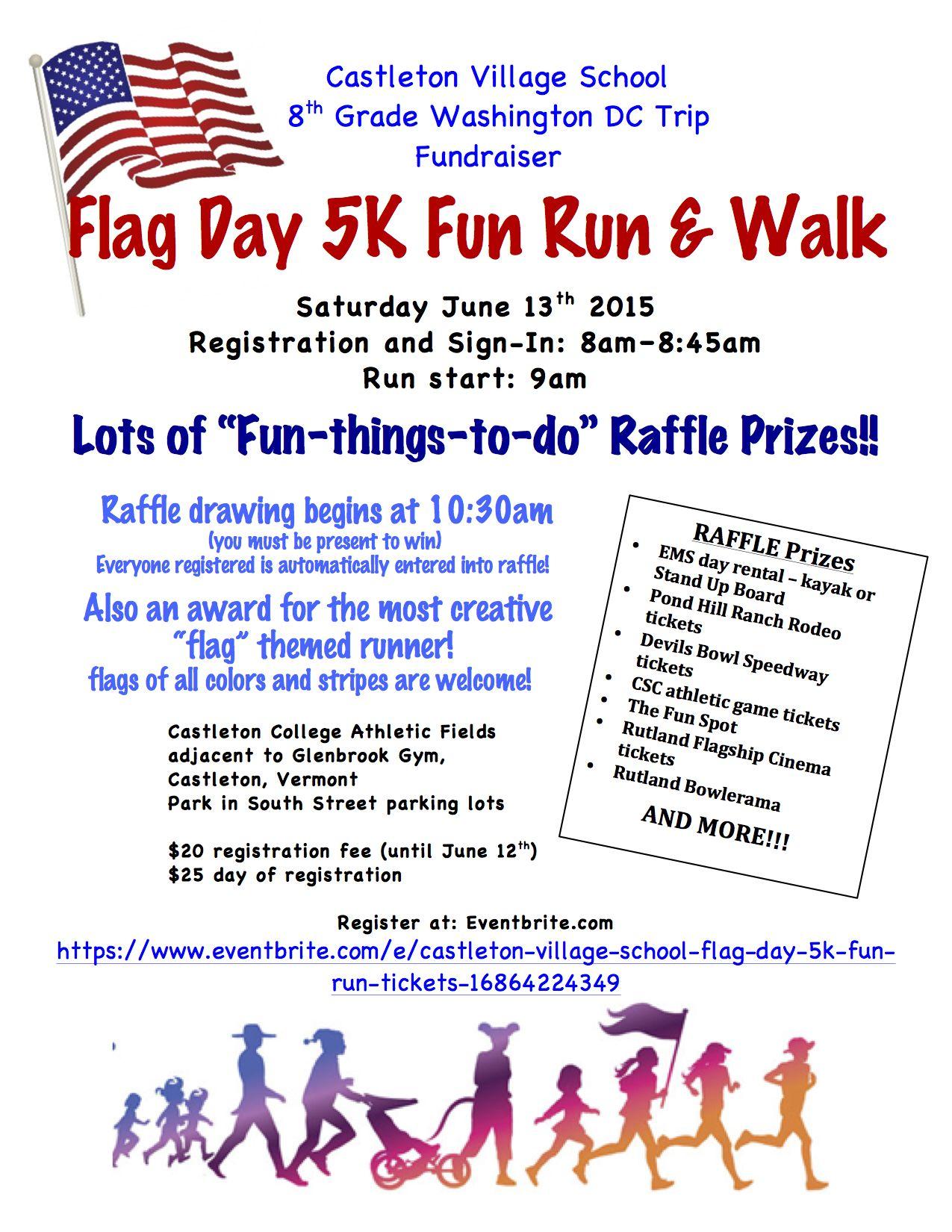 Flag Day 5k Fun Run Rutland Region Chamber Of Commerce