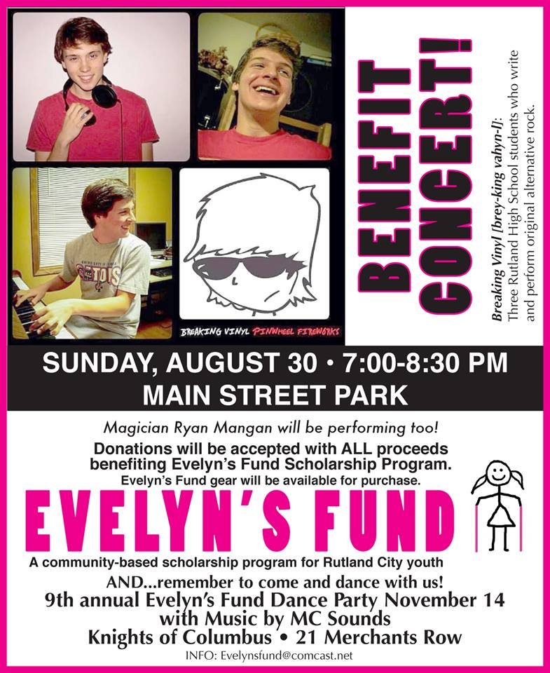 Evelyn S Fund Benefit Concert Rutland Region Chamber Of Commerce
