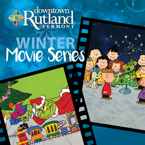 bring the family or friends to downtown rutlands free winter movie series at the paramount theatre - Charlie Brown Christmas Movie