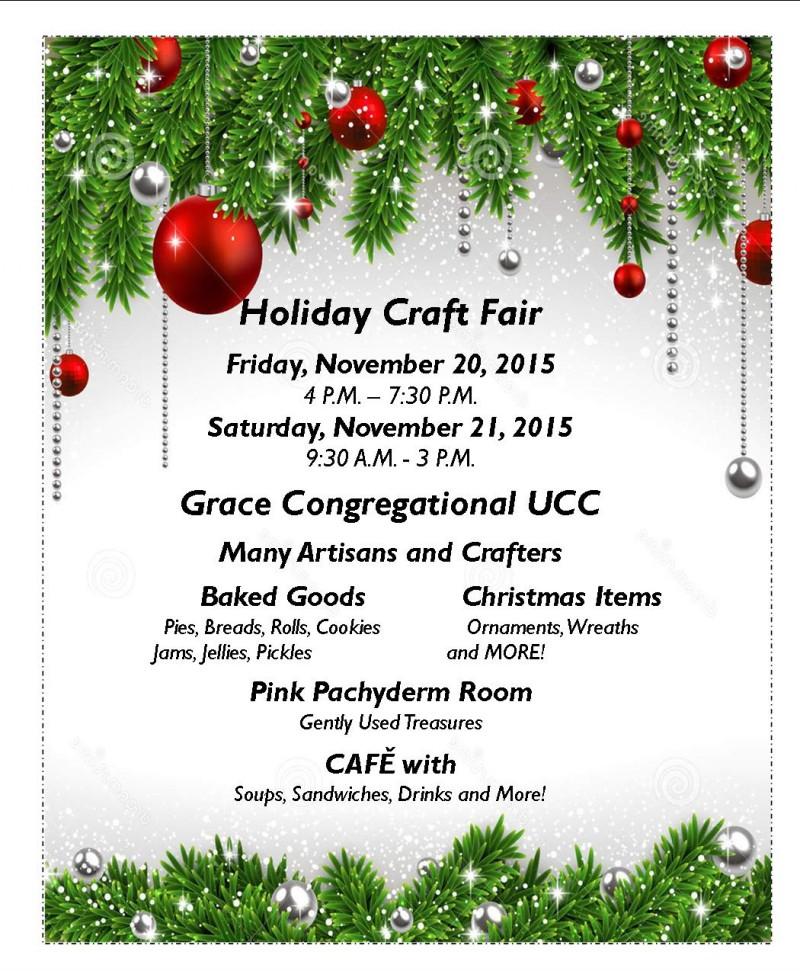 Grace Church Holiday Craft Fair Chamber Economic Development Of The Rutland Region