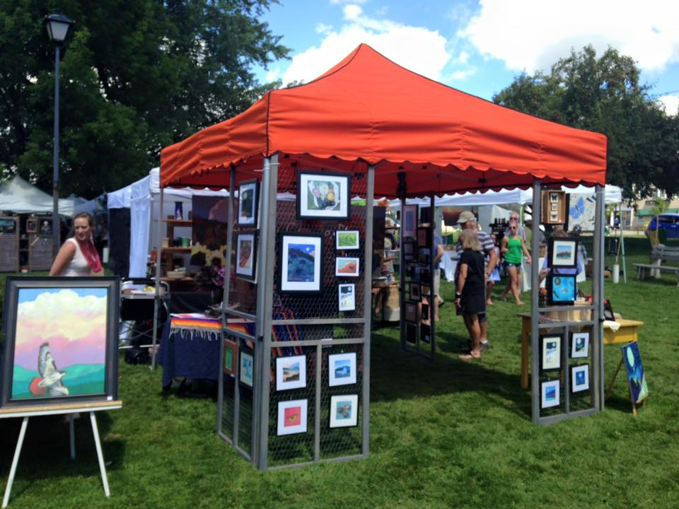 chaffee art in the park