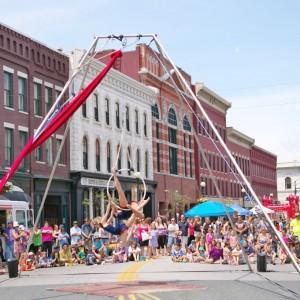 Sidewalk Sales Circus (2)