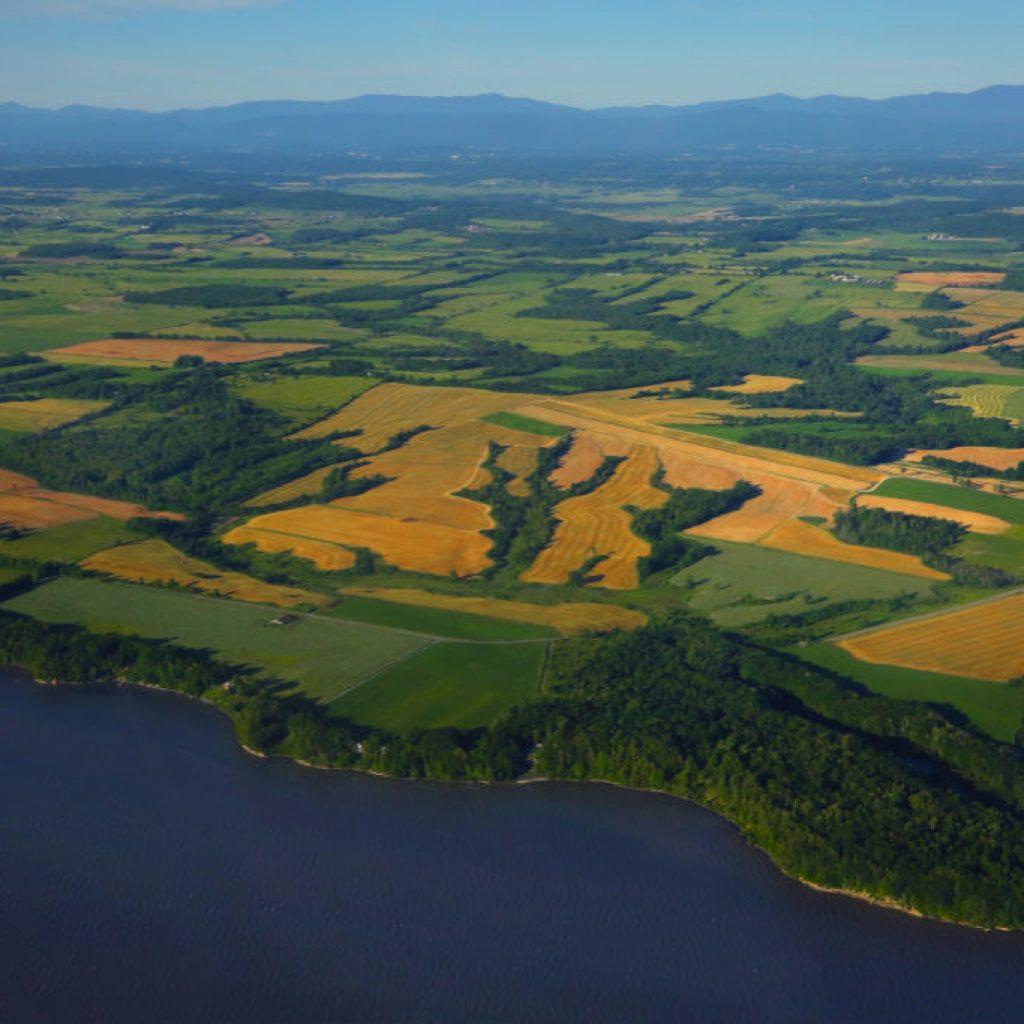 aerial view of Danby
